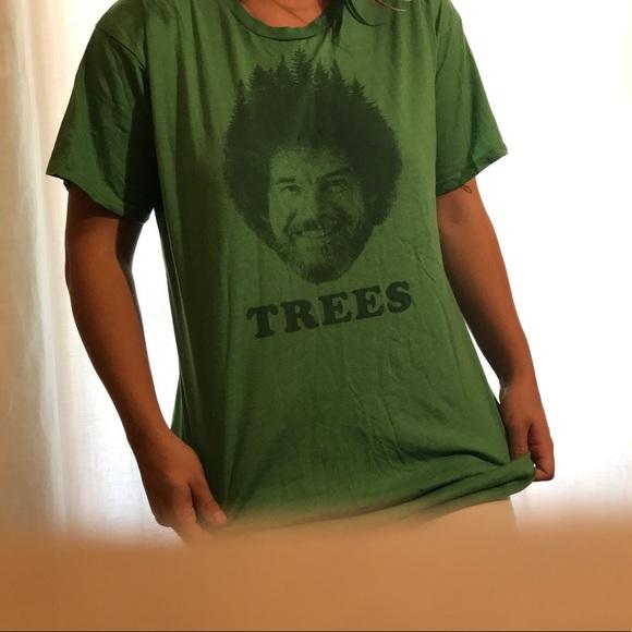 52d078e08 Urban Outfitters Tops | New Bob Ross Graphic Tshirt | Poshmark